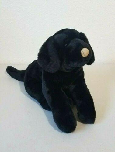 "2000 Animal Alley Toys R Us Black LABRADOR RETRIEVER Puppy Dog Stuffed Plush 18"""