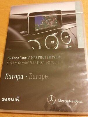 Mercedes Garmin MAP PILOT für Navigation Audio 20 CD - SD-Karte EUROPA 2017/2018 Garmin Audio