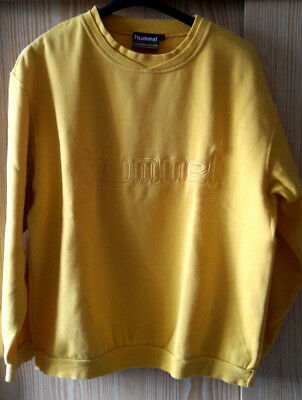 Sweat Shirt von Hummel Gr. L in gelb