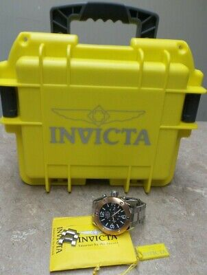 INVICTA Stainless Steel Chronograph Russian Diver Watch Model 18585  - F883