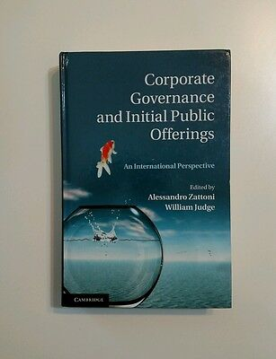 Corporate Governance And Initial Public Offerings   An International Perspective