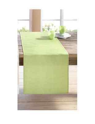 Tischläufer 40 x 150 cm Tischdecke Tisch Deko modern Trend grün Frühling Ostern