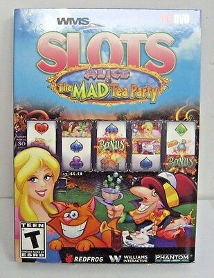 NEW WMS Slots Alice and The Mad Tea Party PC