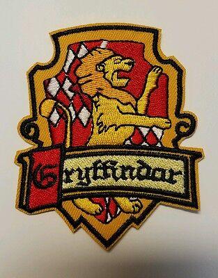 Harry Potter Gryffindor Patch Ricamato 8.9cm Altezza
