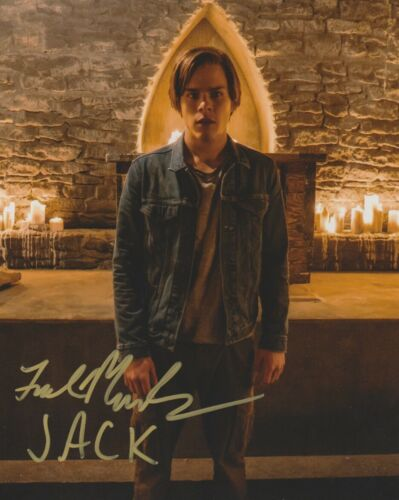 Jake Manley The Order Autographed Signed 8x10 Photo COA 2019-8