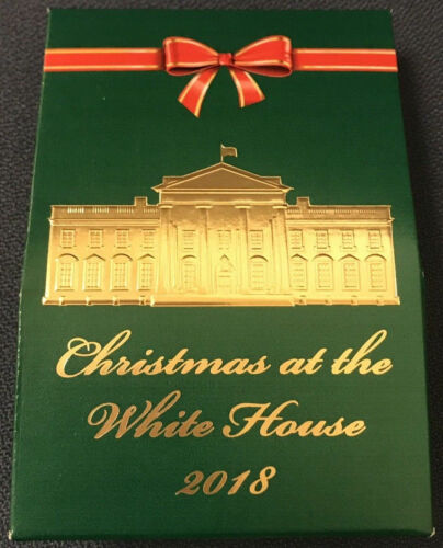 President Donald Trump White House Christmas 2018 Hersheys Kisses Candy USAF
