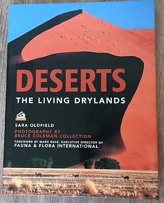 USED Book Deserts: The Living Drylands by Sara Oldfield