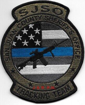 "San Juan Co. - Tracking Team, UT (4"" x 5"" size)  shoulder police patch (fire)"