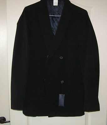 Burberry Prorsum Collection men's sports jacket, NWT,  size 40, navy, $1350
