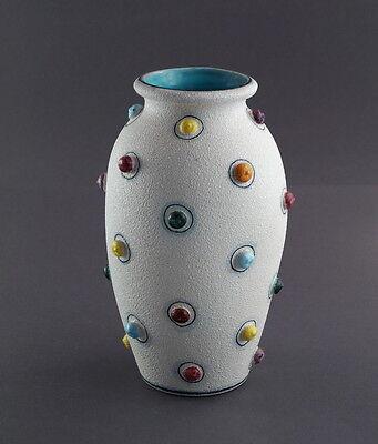 Keramik Vase Italien - 50/60er Jahre   (# 7534)