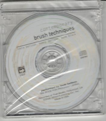 """""""CONTEMPORARY BRUSH TECHNIQUES"""" CD-SEALED-BRAND NEW ON SALE-CD ONLY-COMPACT DISC"""