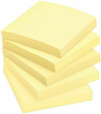 Post-it Notes Value Pack Sticky Notes 100 Sheetspad 4 Pads 3 X 3 Yellow