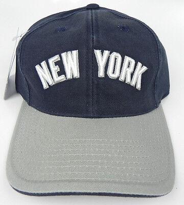 NEW YORK YANKEES UNIFORM MLB VTG STRAPBACK 1990s RETRO CAP HAT NWT PUMA (Yankees Uniform)