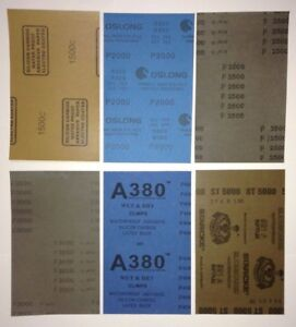 4000 Grit Sandpaper Other Auto Tools Supplies Ebay