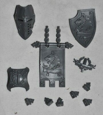 Canis Rex Icons Mask Shield Banner Wolf Imperial Knight Warhammer 40K Bits B7