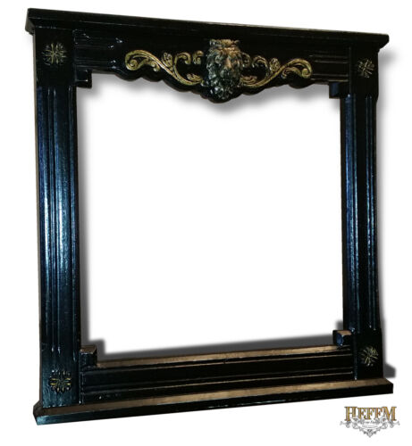 Gothic Lions Head Motif Picture Frame Painting Mirror