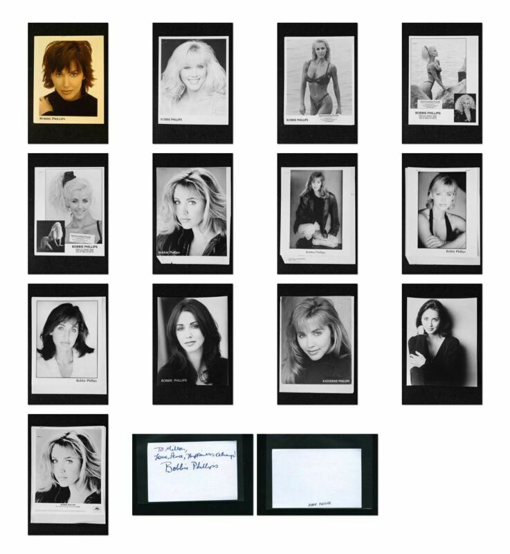 Bobbie Phillips - Signed Autograph and Headshot Photo set - RED SHOE DIARIES