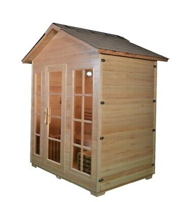 2-4 or 5-6 Person Outdoor Wet/ Dry sauna