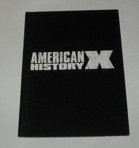 AMERICAN HISTORY X FRENCH MOVIE PRESSBOOK PRESS BOOK EDWARD NORTON and FURLONG