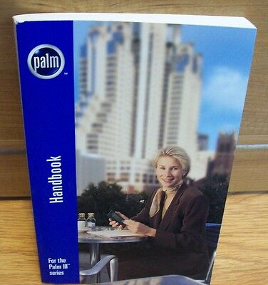 Palm III Handheld PDA Handbook Manual Hard To Find Reduced Price