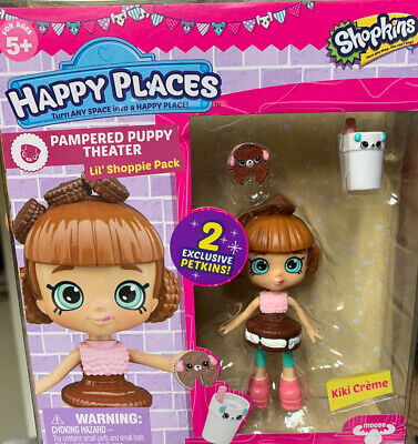Shopkins Happy Places Kiki Creek Pampered Puppy Theatre Lil' Shoppie Pack