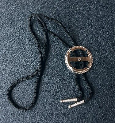 ONE SILVER DOLLAR COIN HOLDER BOLO TIE BEZEL FITS MORGAN PEACE IKE
