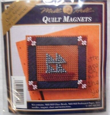 Mill Hill Quilt Magnet Kit - SAILBOAT Quilt Square