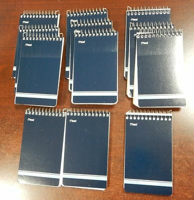 12 Mead Cambridge Writing Pad 3 X 5 Small Memo Book Wirebound Notebook 70sheet