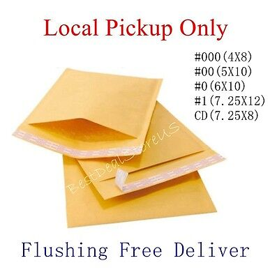 250 0 6x10 Kraft Bubble Padded Envelopes Mailers Local Pickup Only