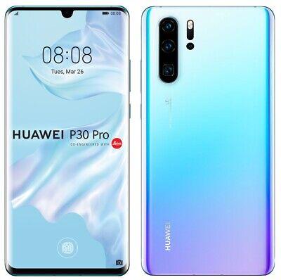 "Huawei P30 Pro 256GB Breathing Crystal VOG-L29 Dual Sim (FACTORY UNLOCKED) 6.47"""