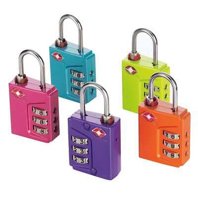 Travel Sentry Approved Lock - Travel Smart by Conair TSN90TS Travel Sentry® Approved Padlock Assorted Colors