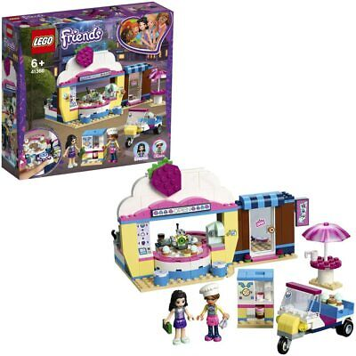 LEGO Friends Olivia's Cupcake Café Playset Toy Shop Scooter Kitchen Dining Area