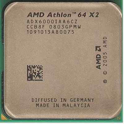 AMD CPU Athlon 64x2 6000  3.0GHz/2MB Socket AM2 ADX6000IAA6CZ