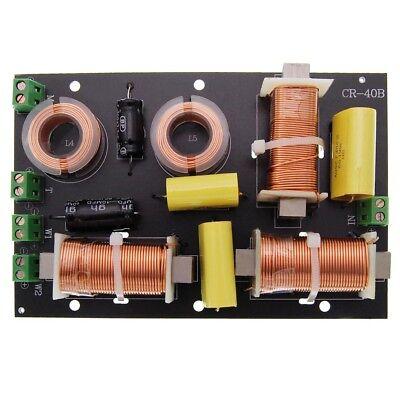 3-Wege passive Frequenzweiche Pro CR-40B, 300 Watt, 8 Ohm, 12 dB, 2 Subwoofer