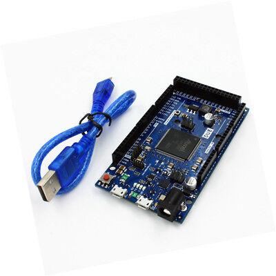 New Due R3 Board Sam3x8e 32-bit Arm Controller Cortex-m Compatible For Arduino