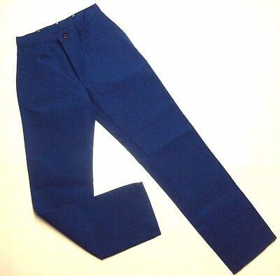 Bulwark Men Nomex Iiia Flame Resistant 7.5oz Twill Jean Style Pant Blue 30w X34