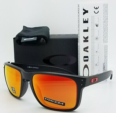 NEW Oakley Holbrook XL sunglasses Black Prizm Ruby 9417-0459 AUTHENTIC 9417 red