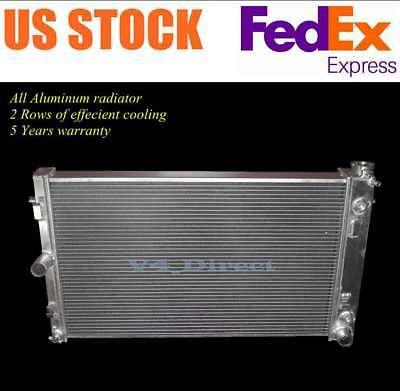 26 x 16 Core ALL Aluminum 2 Rows Radiator For 05 06 Holden Monaro 60L Engine