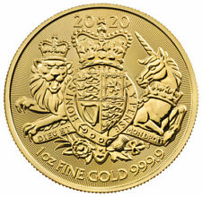 2020 Great Britain 1 oz Gold Royal Coat of Arms £100 Coin GEM BU SKU60668
