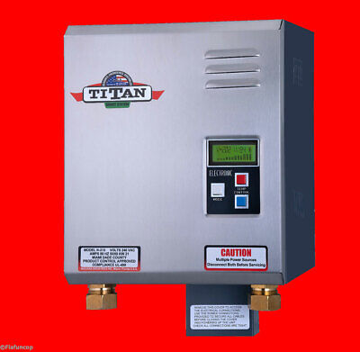 Titan N-270 Tankless Water Heater - New for 2019 Free same day PRIORITY shipping