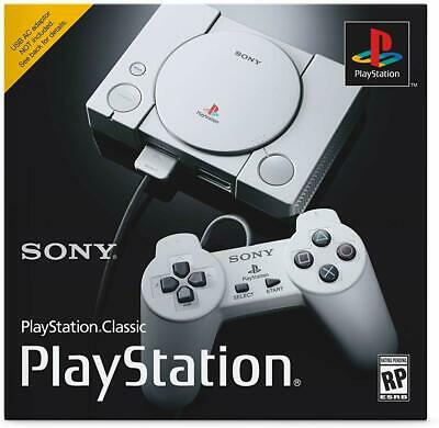 Sony PlayStation Classic Video Game Console - Gray NEW