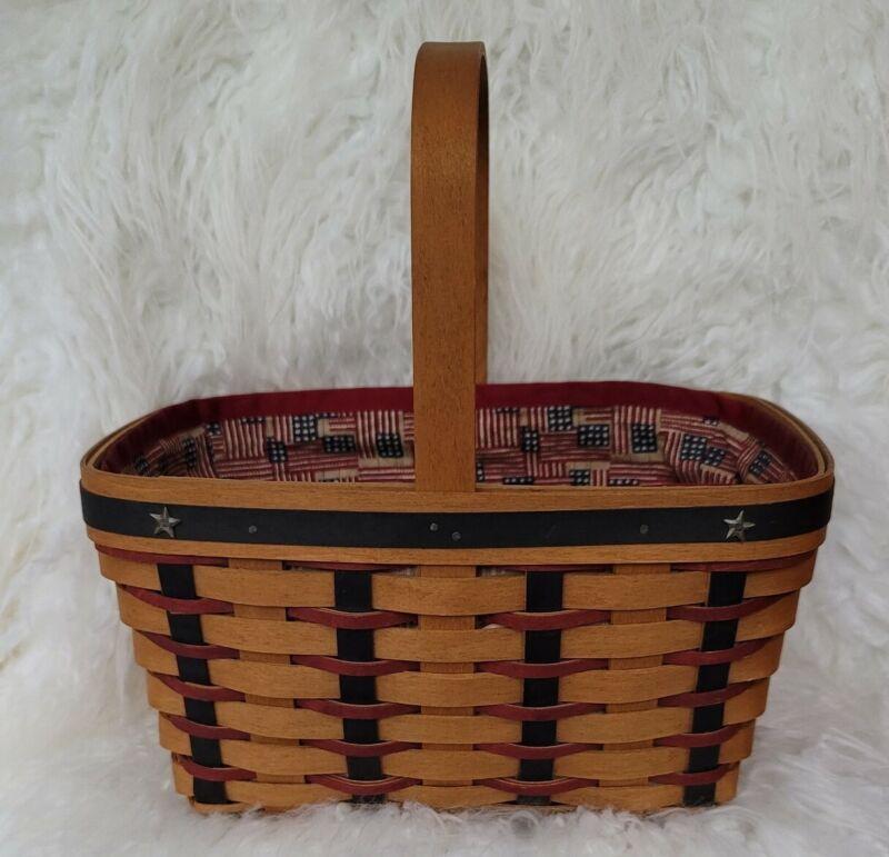 Longaberger Proudly American Spring Basket