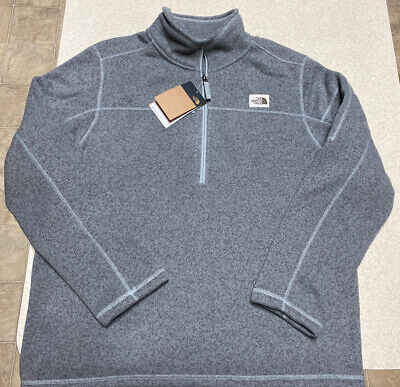 The North Face Gordon Lyons Fleece 1/4 ZIP Jacket $90 Men's Size XL