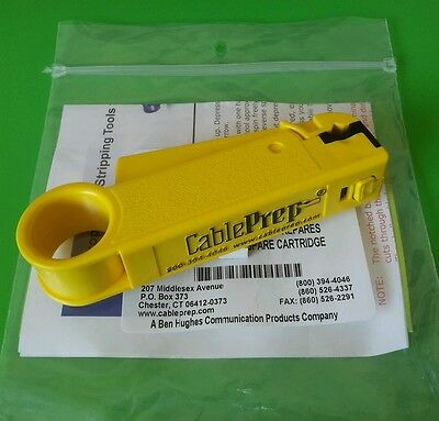 New Cable Prep Cpt-6590 Prep 6 59 Cable Stripper Only Wo Spare Cartridge