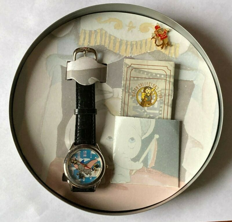 Dumbo Limited Edition Fossil Disney Collectors Watch Club Series III Film Reel