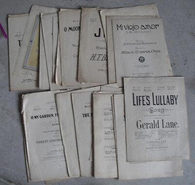 Pre 1900 - 1800'S Sheet Music