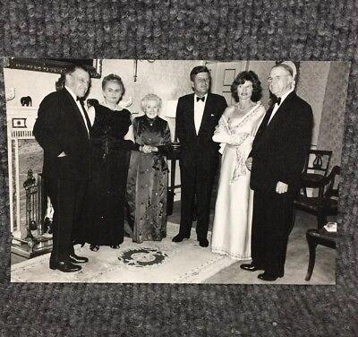 Vintage President John F. Kennedy & Jackie In Dublin Ireland Press Photo C10