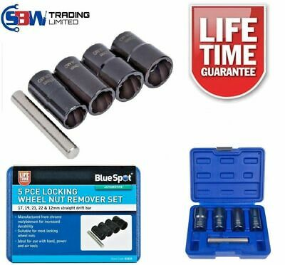 HEAVY DUTY Locking Wheel Nut Remover Nut Bolt Stud Extractor Impact Socket 01533