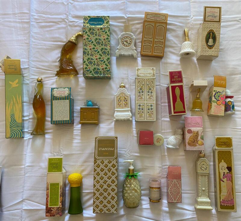 NIB 14 Vintage Avon Lot 🌼 Perfume / Oil / Cologne / Lotion / Powder / Cream