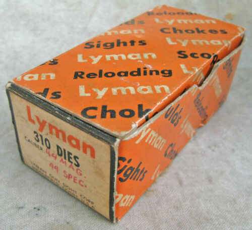 Lyman Die Set 310 - for 44 special magnum 4 die set